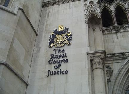 Image result for the royal courts of justice images