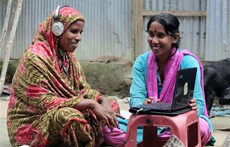 Bildergebnis für woman bangladesh computer