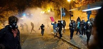 Image result for images of antifa riot