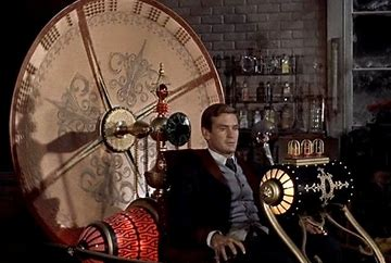 Image result for images of the time machine 1960
