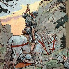 Image result for images charlemagne at roncesvalles