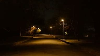 Image result for royalty free picture of neighborhood at night