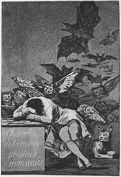 Image result for The Sleep of Reason Produces Monsters