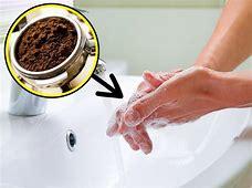 Resultado de imagen de café, elimina olores en las manos