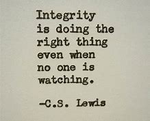 Image result for c.s. lewis quotes integrity