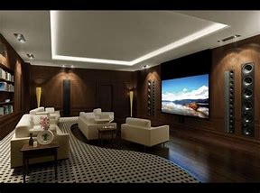 Image result for simple Home Theater Design