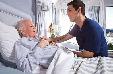 Image result for male nurse with elderly patient images