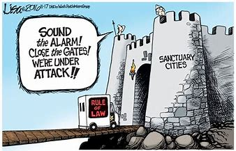Image result for images of sanctuary cities