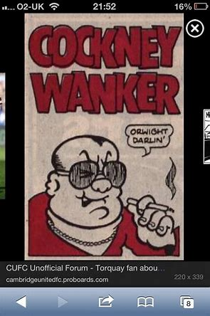Image result for cockney wanker images viz