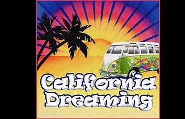 Image result for california dreaming images