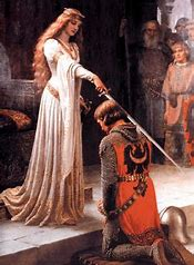 Image result for images chivalric love