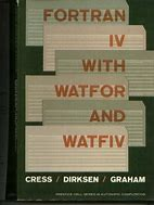 Image result for fortran iv with watfor and watfiv