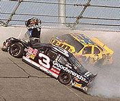 Image result for Dale Earnhardt, Sr., was killed