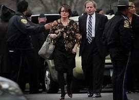 Image result for Veronique Pozner at funeral