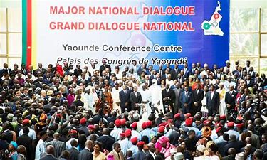 Image result for  photos of the government's committment for peace in the anglophone crisis
