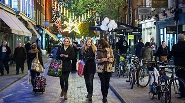 Image result for london boxing day shopping