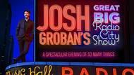 Josh Groban's Great Big Radio City Show