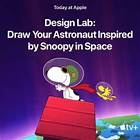 Apple Store Snoopy in Space Sessions Feb 28 Mar 15
