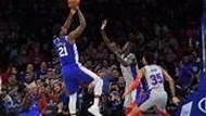 03月12日 NBA常规赛 活塞vs76人 集锦 录像