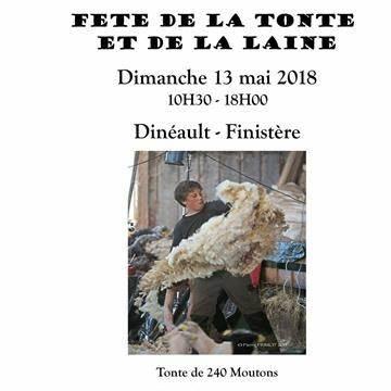 Journée de La Tonte et de La Laine - Léco-Ecole SInvité à La Bergerie | Le Guilly, 29150 Dinéault | +33 6 50 06 88 06