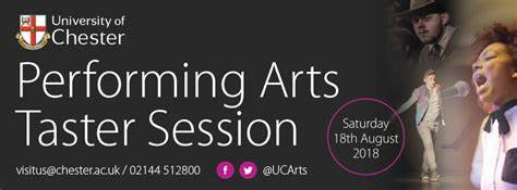 University Of Chester Performing Arts | Kingsway Buildings, University Of Chester, Chester CH2 2LB | +44 1244 515860