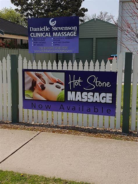 Danielle Stevenson Clinical Massage   49 Lucan Street, Bendigo, Victoria 3550   +61 3 5443 2791