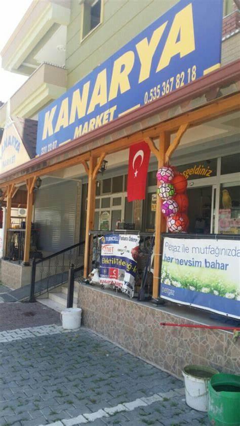 Kanarya Market   Maşuklu beldesi inönü Caddesi no:112, Antakya/Hatay   +90 326 221 22 07