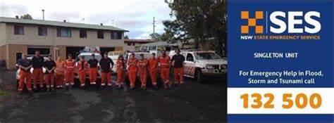 NSW SES - Singleton Unit   9-11 Queen Street, Singleton, New South Wales 2330   13 25 00
