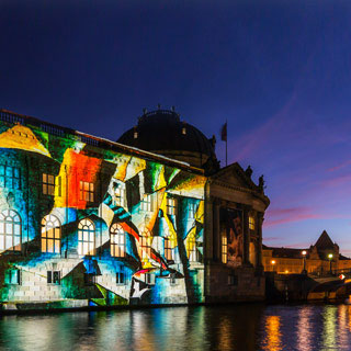 Why is Berlin looking so colorful?