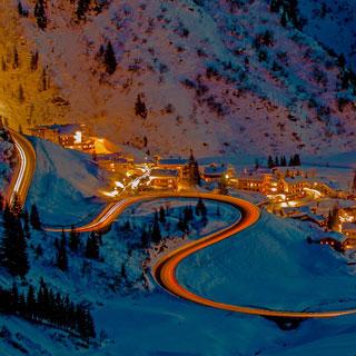 Where is this tiny ski village?
