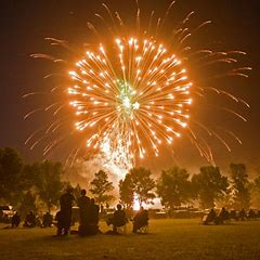 Which empire first used fireworks?