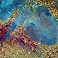 Who took this photo of the Sahara?