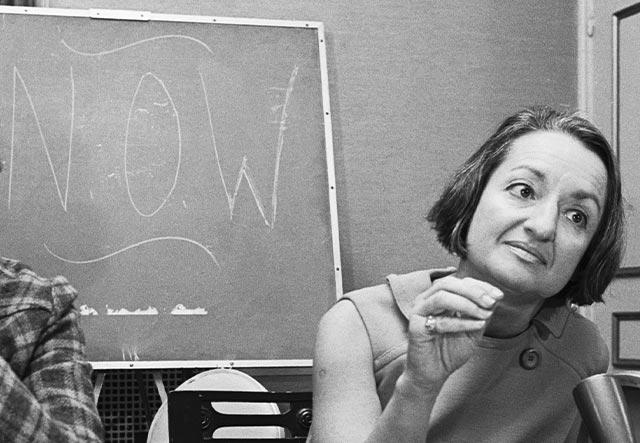 Betty Friedan founds the National Organization for Women