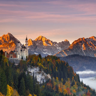 Where is this fairytale castle?