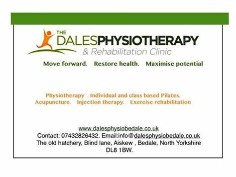 The Dales Physiotherapy And Rehabilitation Clinic | The Old Hatchery Blind Lane, Bedale DL8 1BW | +44 7432 826432