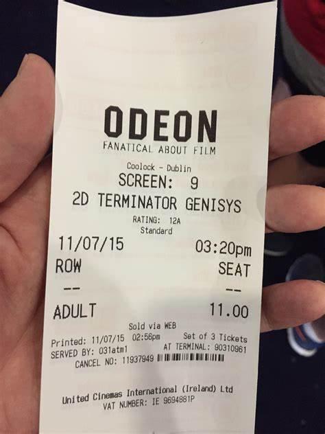 Odeon   84 Malahide Rd, Dublin, 17   +353 1520 880 000