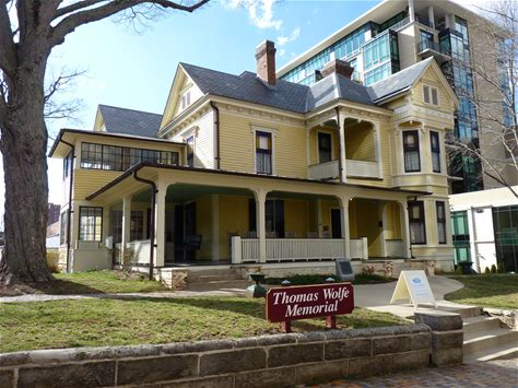 Learn more about Thomas Wolfe House