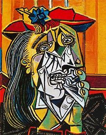 Image result for the weeping woman, pablo picasso