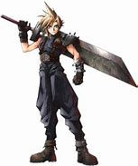 Image result for Who is Cloud Strife in Final Fantasy VII?