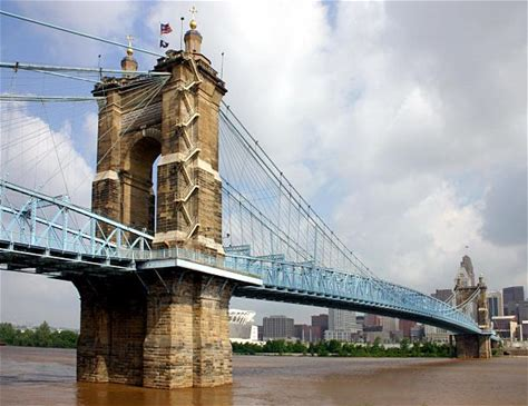 Learn more about John A. Roebling Suspension Bridge