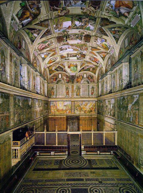 Learn more about Sistine Chapel