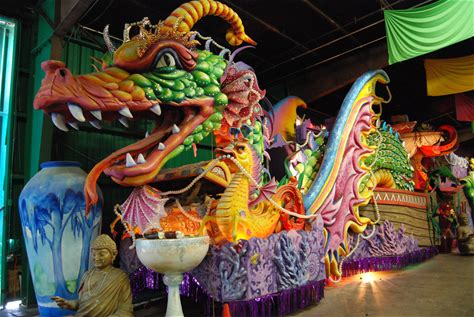 Learn more about Mardi Gras World