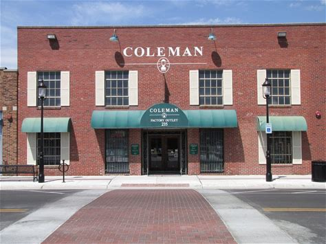 Learn more about Coleman Factory Outlet
