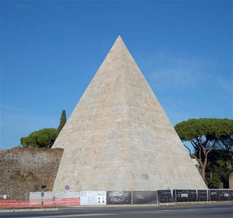 Learn more about Pyramid of Cestius