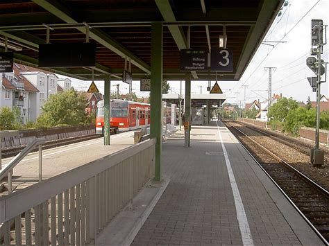 Learn more about Stuttgart-Rohr station