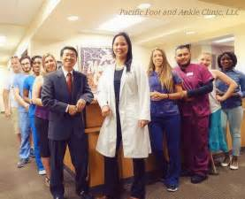 Pacific Foot and Ankle Clinic, LLC. Amy Theppote, DPM and Manny Moy, DPM | 6542 SE Lake Rd Unit 102, Milwaukie, OR, 97222 | +1 (503) 659-6686