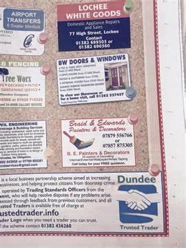Braid & Edwards Painters & Decorators | 56 Milton Street, Dundee DD3 6QQ | +44 7879 556766