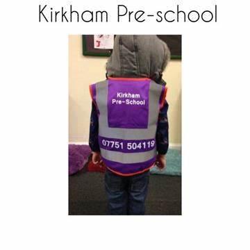 Kirkham Pre School Within Methodist Church Hall | Nelson Street, Kirkham PR4 2JP | +44 7751 504119