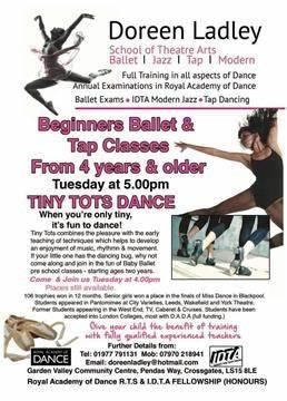 Doreen Ladley, School Of Theatre Arts | Garden Valley Community Centre, Leeds LS15 8LE | +44 7970 218941