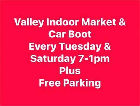 Valley Carboot, Indoor Market & Craft Hall   Field Street Valley, Valley LL65 3EG   +44 7503 296880